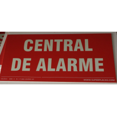 Placa Central de Alarme - Fotoluminescentes